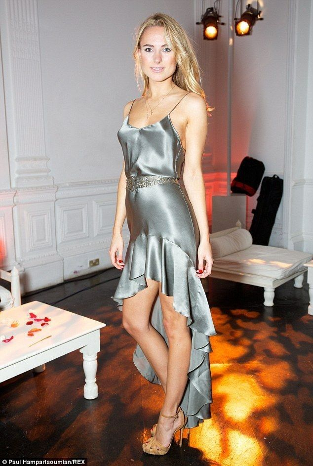 Kimberley Garner and Diana Vickers compete for best grey dress - Celebrity Fashion Trends