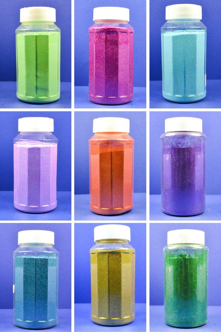 Website for bulk glitter bottles for DIY glitter crafts ...