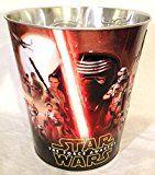 #5: Star Wars The Force Awakens Movie Theater Exclusive 130oz Metal Popcorn Tub #1