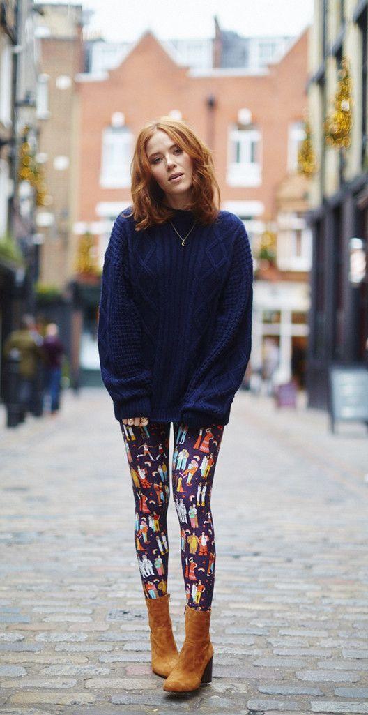 Love Wins printed leggings by Dawn O'Porter