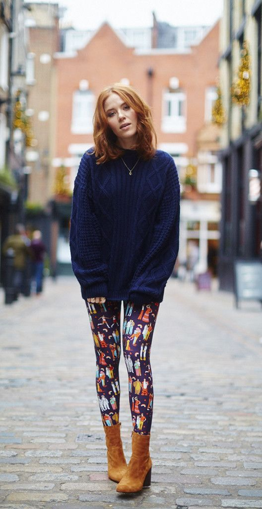 Love Wins printed leggings by Dawn O'Porter