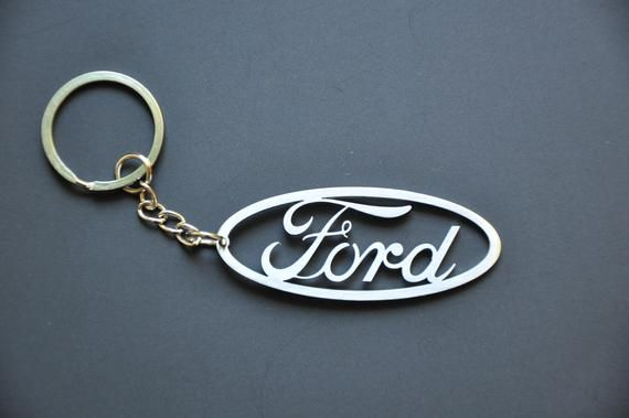 Ford Stainless Steel Keyring Car Logo Key Chain Fobs