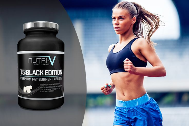 1mth* Supply of T5 Black Edition 'Fat Burner' Tablets