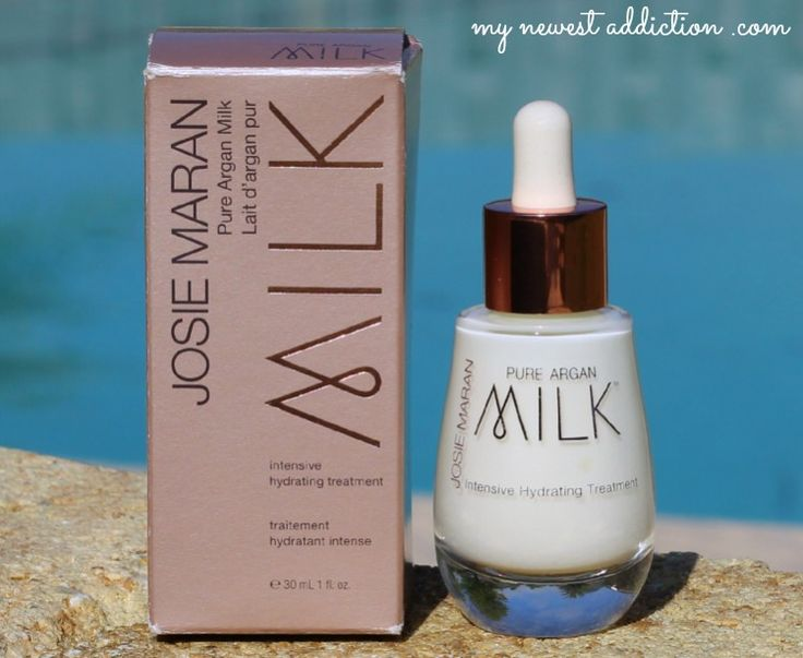 Josie Maran Pure Argan Milk - My Newest Addiction Beauty Blog via http://mynewestaddiction.com