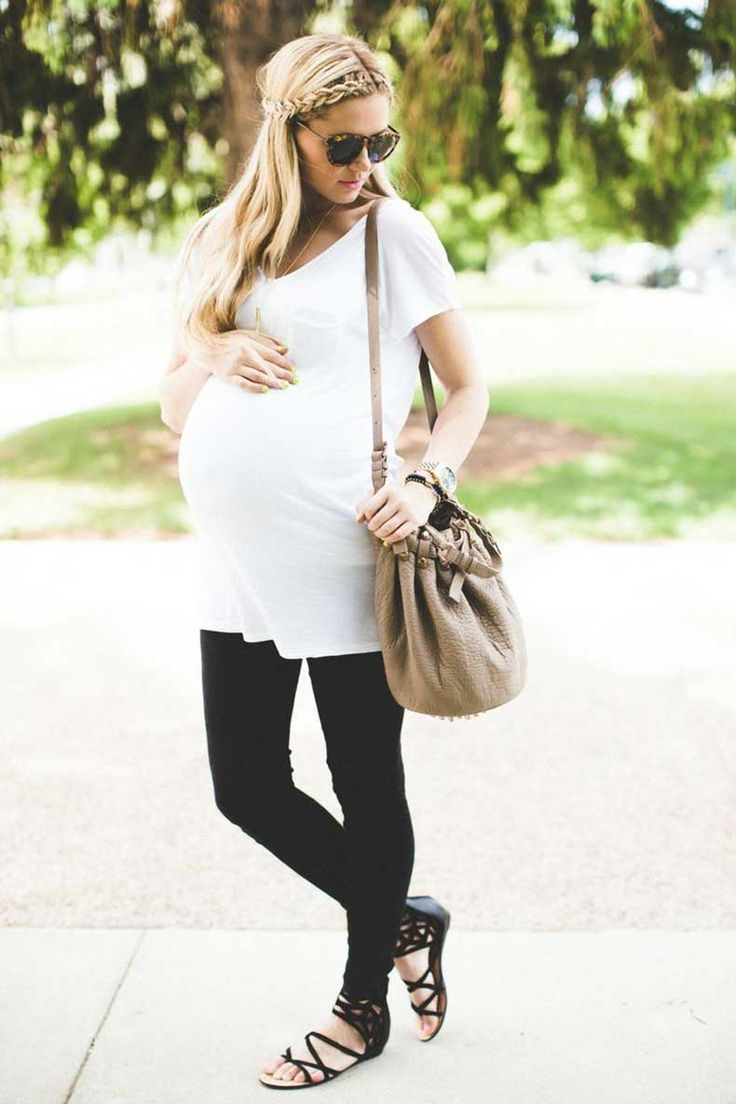 Simple maternity style
