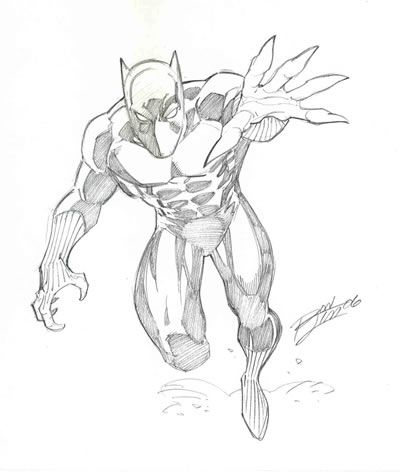 Black-panther-pencil-drawings_235373.jpg (400u00d7472) | LineArt Black Panther | Pinterest | Black ...