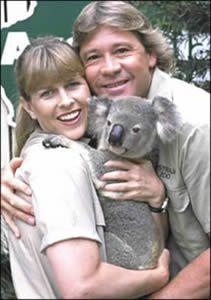 Steve and Terri Irwin