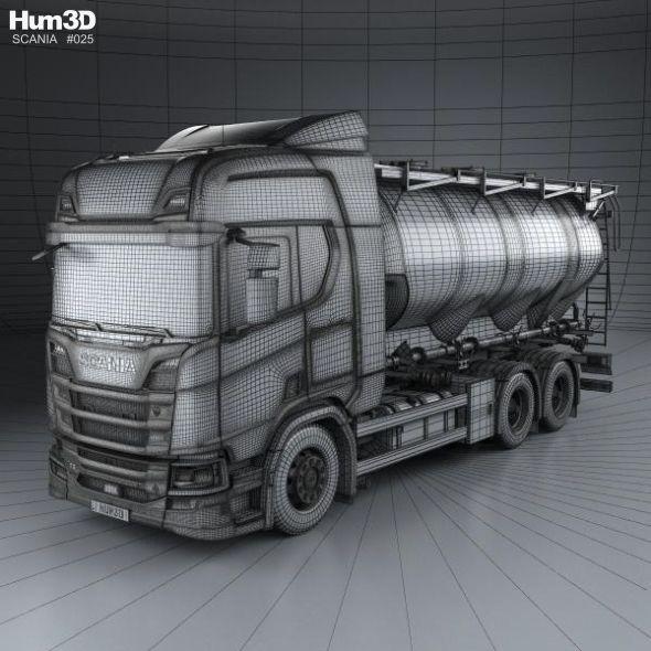 Scania R 730 Tanker Truck 2017 #Scania, #Tanker, #Truck | Icons