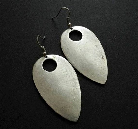 Hey, I found this really awesome Etsy listing at https://www.etsy.com/listing/490103435/antique-silver-plated-earrings-ethnic