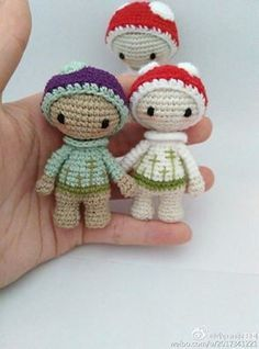 Mini Lalylala traduction patron gratuit français amigurumi ( free french pattern)