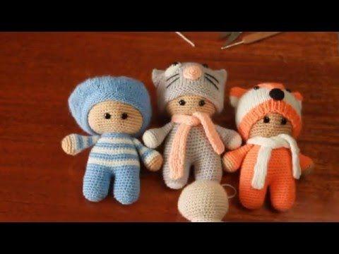 Вязание основы игрушки Йо-йо./ Knitting basics toys yo-yo. - YouTube