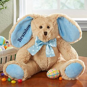 Some-Bunny+Special+Embroidered+Plush+Bunny-+Blue