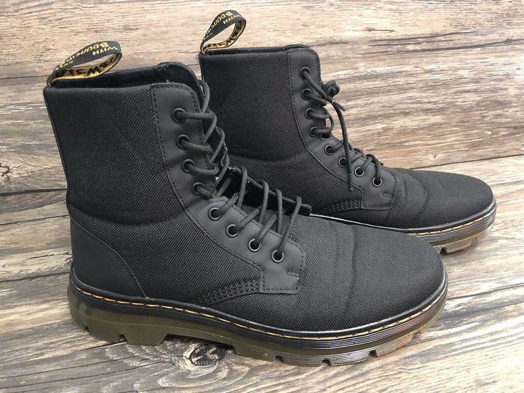 Dr martens combs boots unisex mens sz 11 m ladies 12 m