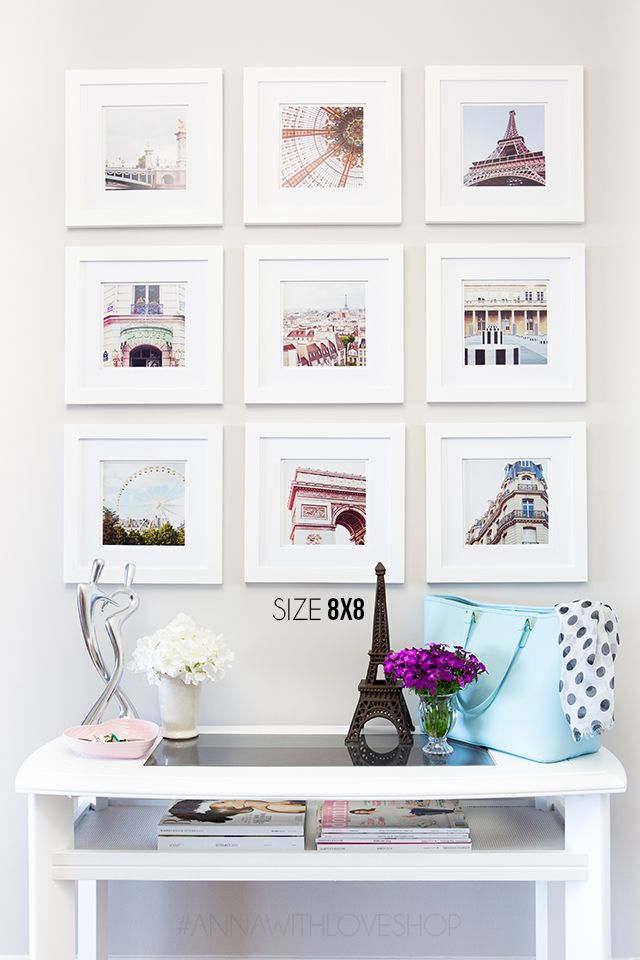 Creative Wall Displays: Beyond the Gallery Wall! | landeelu.com Lots of great ideas for displaying meaningful items on your wall!