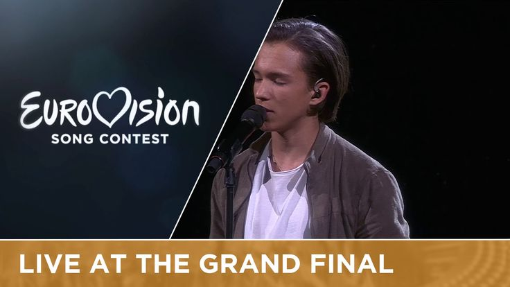 LIVE - Frans - If I Were Sorry (Sweden) at the Grand Final 2016 Eurovisi...