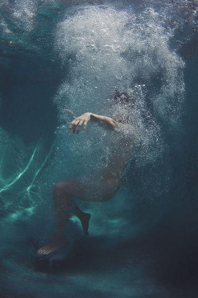 Underwater Pool Aesthetic