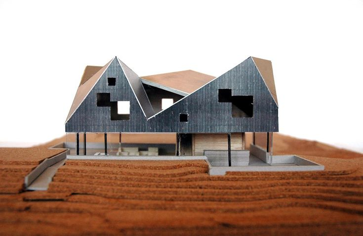 Model: Dune House | Jarmund/Vigsnaes | Living Architecture