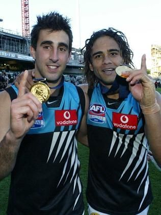 Dom Cassisi and Peter Burgoyne 2004 Grand Final