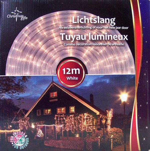 Lichtslang Wit (12M) #kerstverlichting #lichtslang
