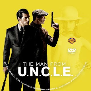 The Man From U.N.C.L.E.DVD Label