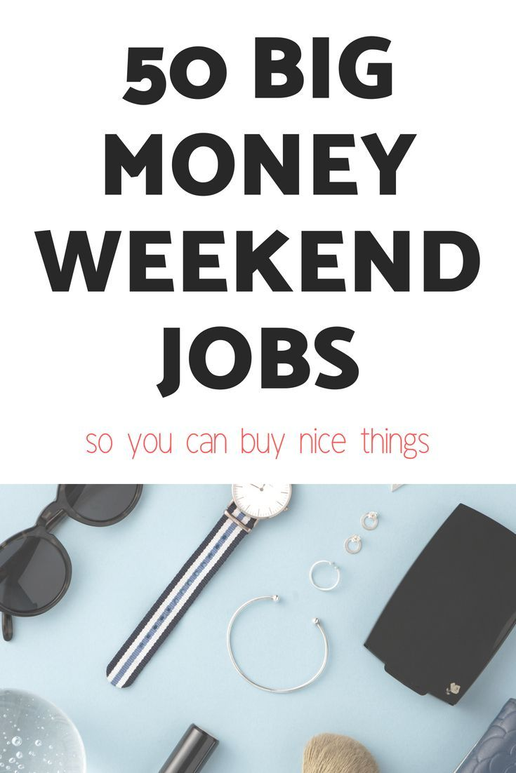 50 Part Time Weekend Jobs Online Weekend Jobs That Make Money