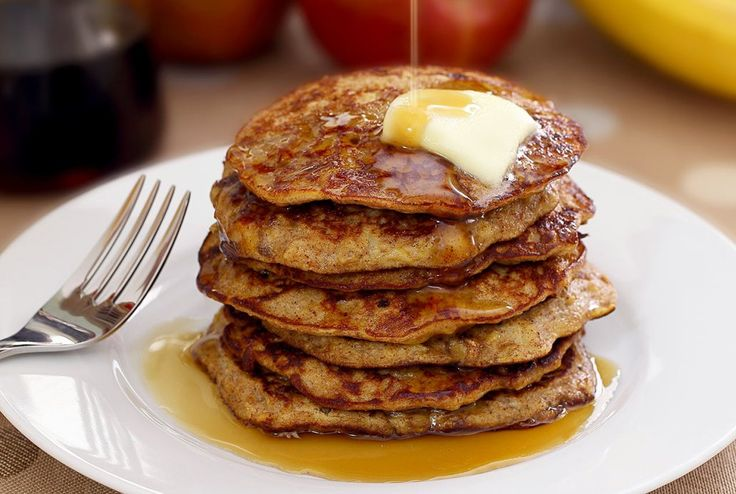 Quick and delicious paleo pancakes recipe - gluten-free, diary-free, and no added sugar. Any way you stack them, both kids and adults will absolutely love these!