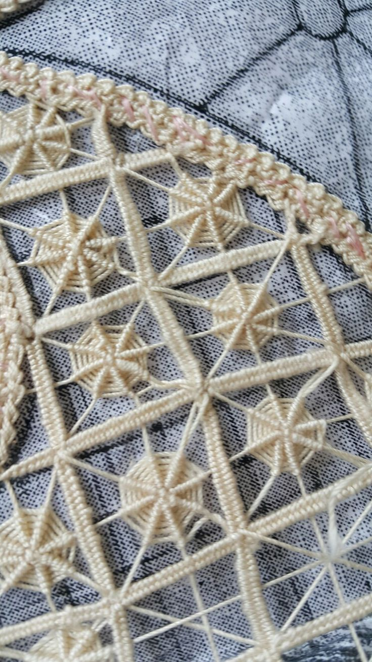 needle lace example                                                                                                                                                     More