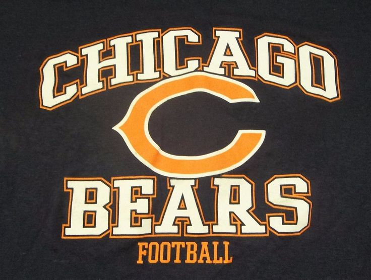 Chicago Bears Football Ladies T-Shirt Adult S Small NFL New with Tags #NFLTeam #ChicagoBears