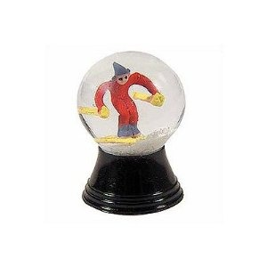 Mini Skier Snow Globe --- http://www.pinterest.com.itshot.me/6dz: Skier Figurines, Mini Skier, Snow Globes