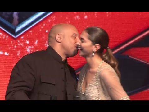 Vin Diesel KISSES Deepika Padukone in public.