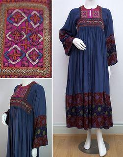 Vintage Afghan Dress c.1970s | Flickr - Photo Sharing!