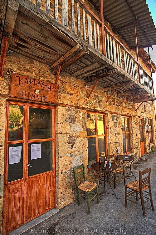 Kafeneion, Goura, Korinthos Greece