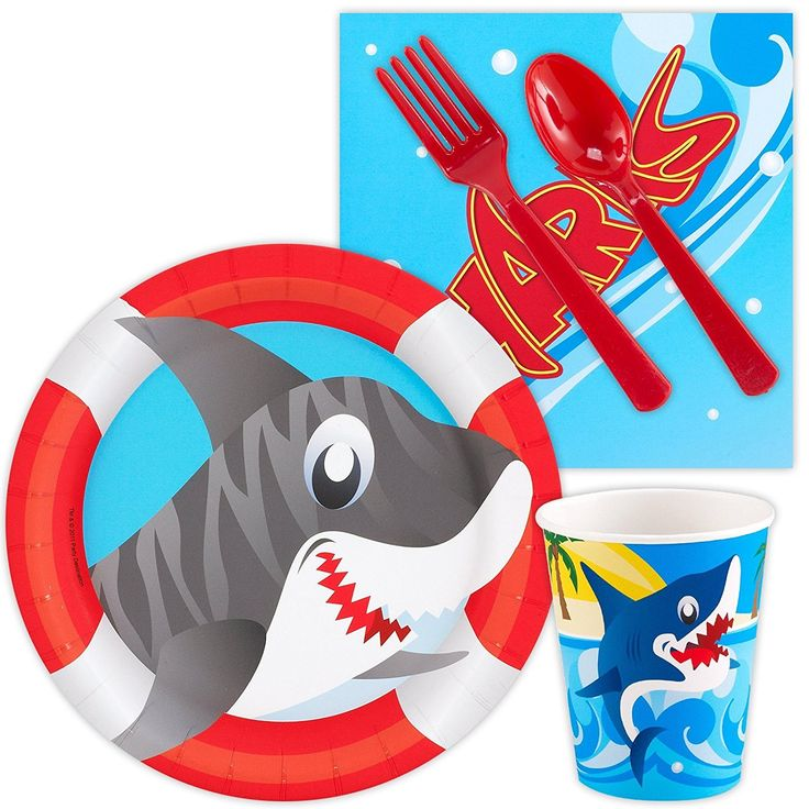 Amazon.com: Sharks Snack Party Pack Bundle: Toys & Games
