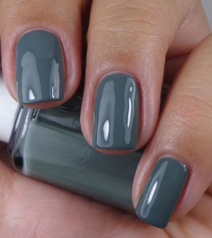 Blue Grey Nail Polish Essie: 1000+ Ideas About Grey Nail Polish On Pinterest