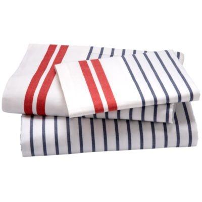 Love the nautical stripes