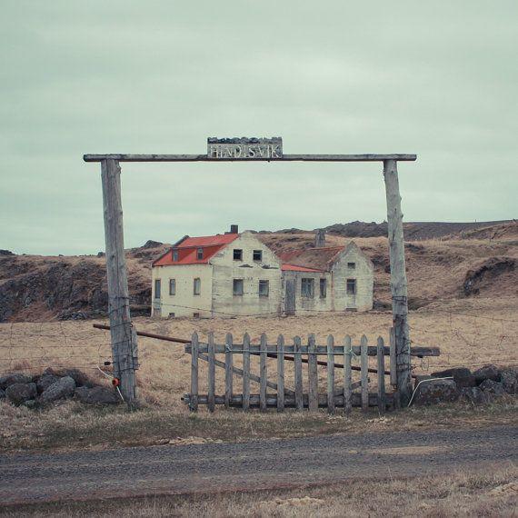 "Hindisvik, Old farm, Iceland photography, Northern wilderness, Nordic art print, Scandinavia, Poster, 8"" x 8"", 20 cm x 20 cm"
