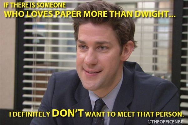 jim and dwight relationship tips