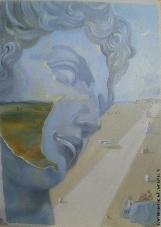 Купить Копия картины Сальвадора Дали - Живопись, живопись маслом, Сальвадор Дали, картина