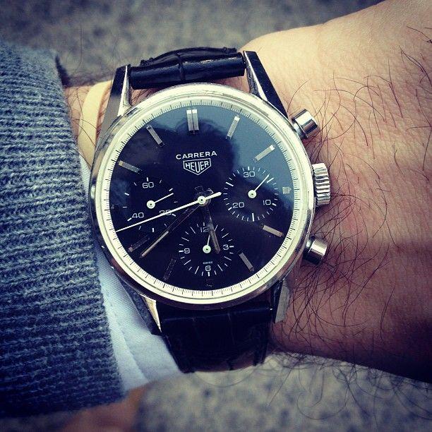 Vintage Carrera. Photo by hodinkee.