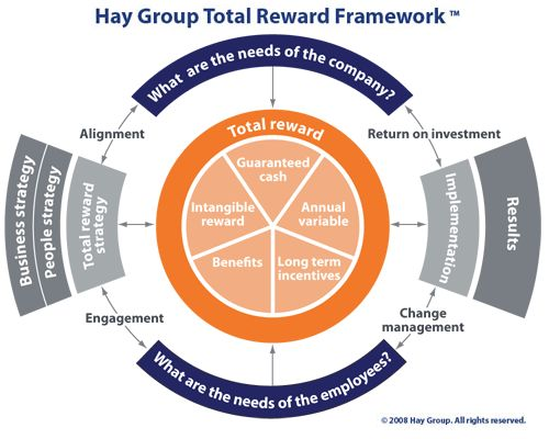 the hay group total reward framework  with images