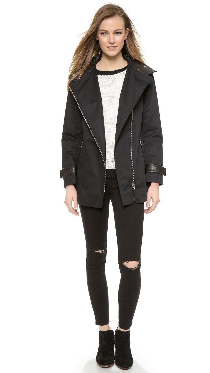 Mackage Black Daria Jacket Black | Dresscab