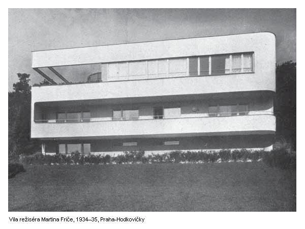 Ladislav Žák, Villa Frič (built for the film director Martin Frič), Prague, 1935