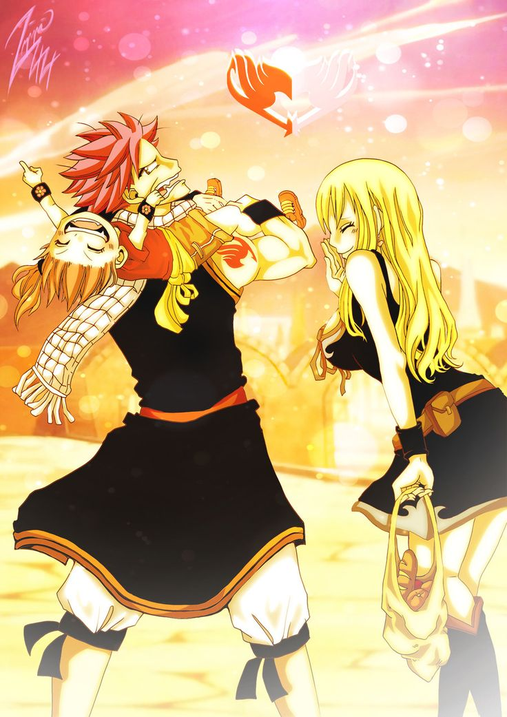11 best images about fairy tail ship familys on pinterest - Fairy tail natsu x lucy ...