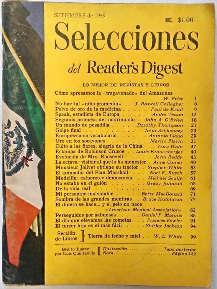 Revista selecciones readers digest