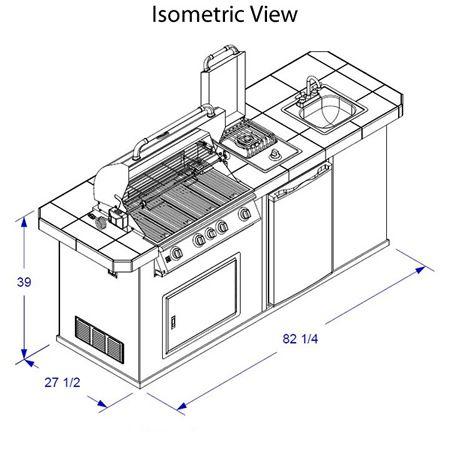 Outdoor Kitchen Dimensions Google Search Garden