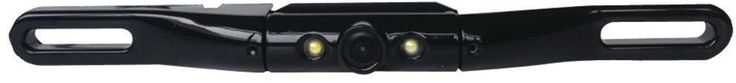 Lite-Bar Type License-Plate Camera with LED Light Black