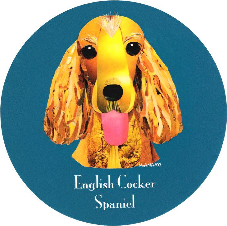 マイ @Behance プロジェクトを見る : 「008   English Cocker Spaniel」 https://www.behance.net/gallery/42195099/008-English-Cocker-Spaniel