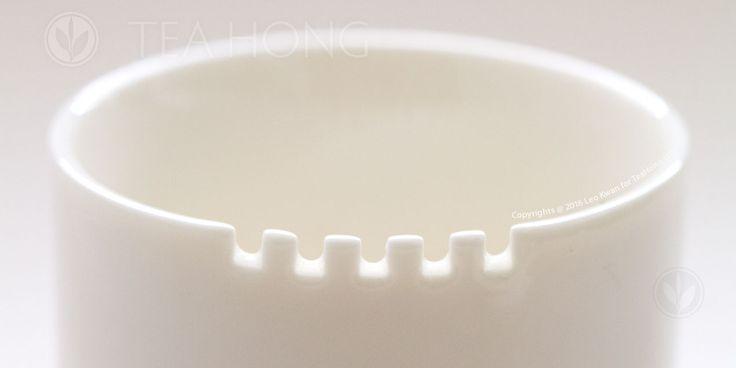 The teeth on a taster's mug