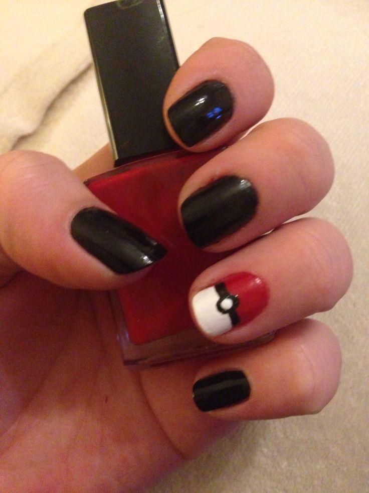 Pokemon nails I did in anticipation for Pokemon Go!