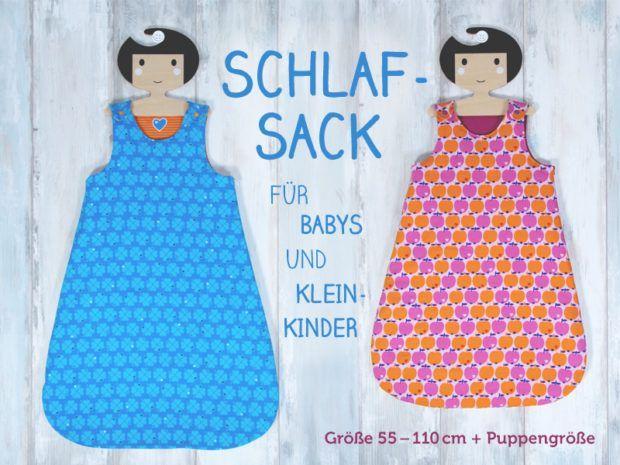 Kurz vor Weihnachten habe ich heute noch etwas Feines für euch! Wir haben ein Nähvideo und Schnittmuster für unsere ganz Kleinen gemacht: einen kuscheligen Schlafsack für Babys und Kleinkinder. Mit Tr